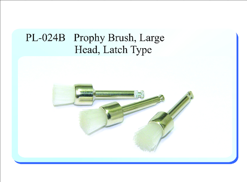 PL-024B Prophy Brush, Large Head, Latch Type